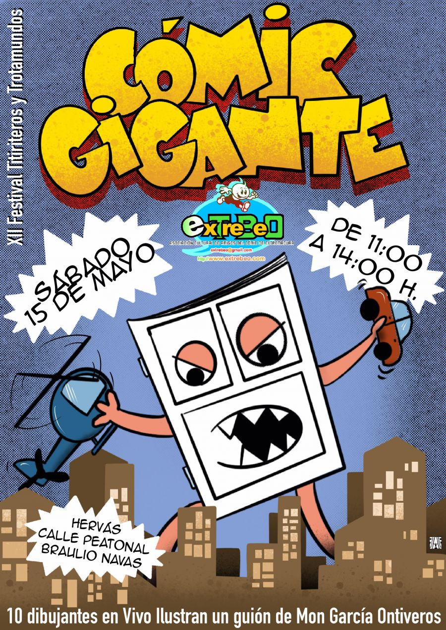 Comic Gigante en Hervás