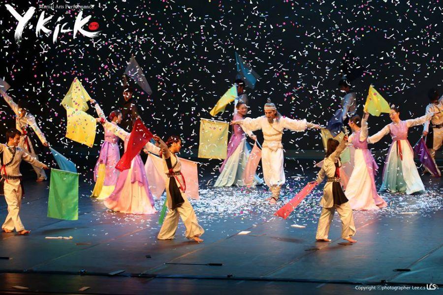 Inauguración. Celebración de la niñez y la adolescencia. Hon, taekwon musical