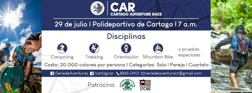 CAR Cartago Adventure Race