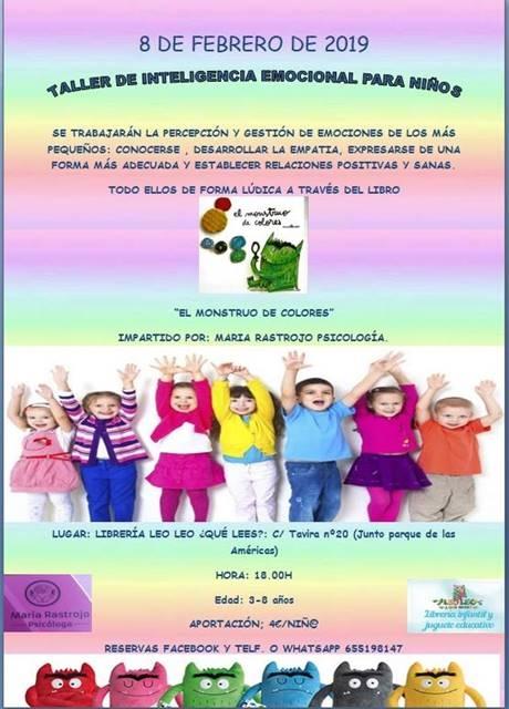 Taller de inteligencia emocional para niños || Leo Leo ¿Qué lees?