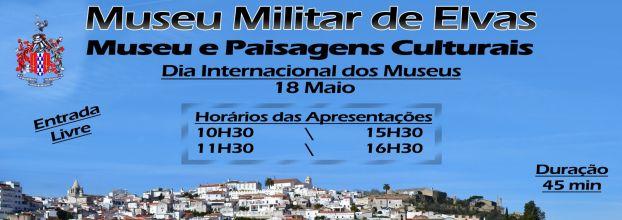 """""""Elvas vista da Cortina do Casarão"""" - Dia Internacional dos Museus"""