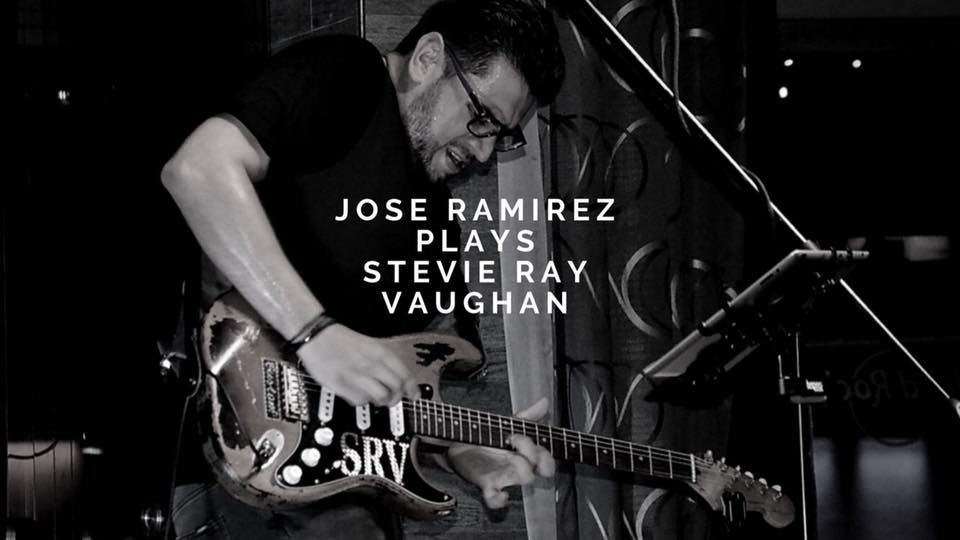 One last night, plays Stevie Ray Vaughan. Jose Ramírez. Solista, rock-blues
