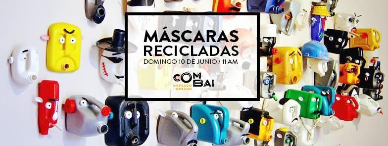 Máscaras recicladas