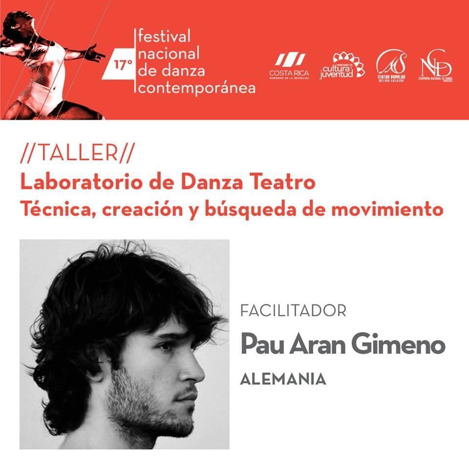 17vo Festival Nacional de Danza Contemporánea. Laboratorio de Danza Teatro