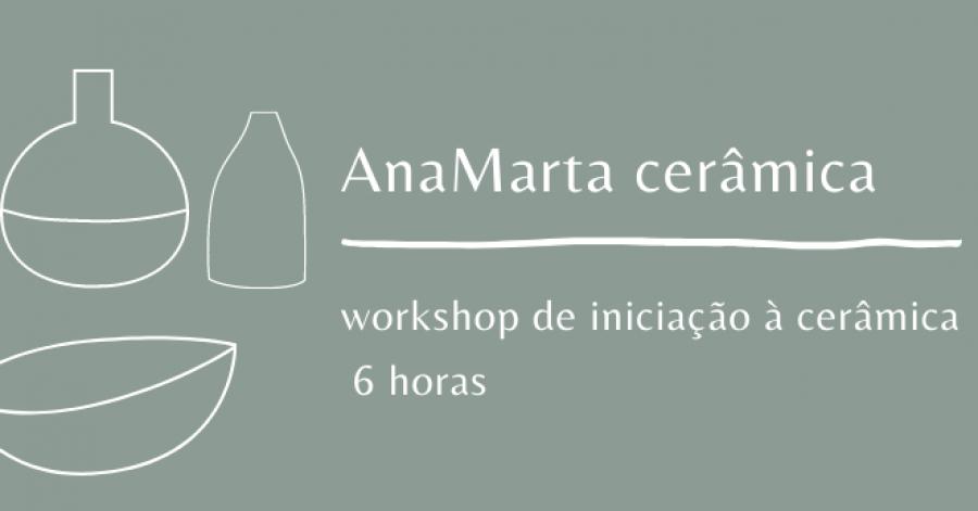 Workshop de iniciação à cerâmica   Ceramics workshop for beginners