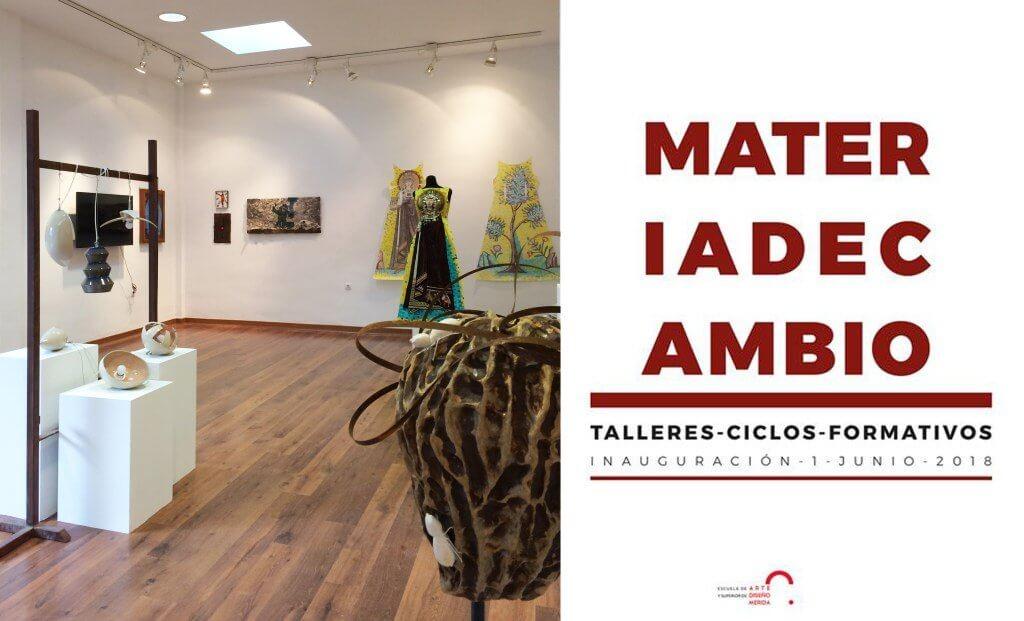 Exposición alumnado ciclos formativos EASD Mérida