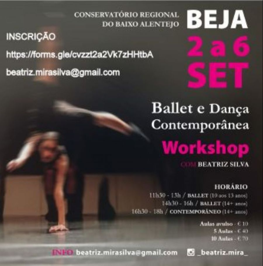 Workshop Ballet e Dança Contemporânea