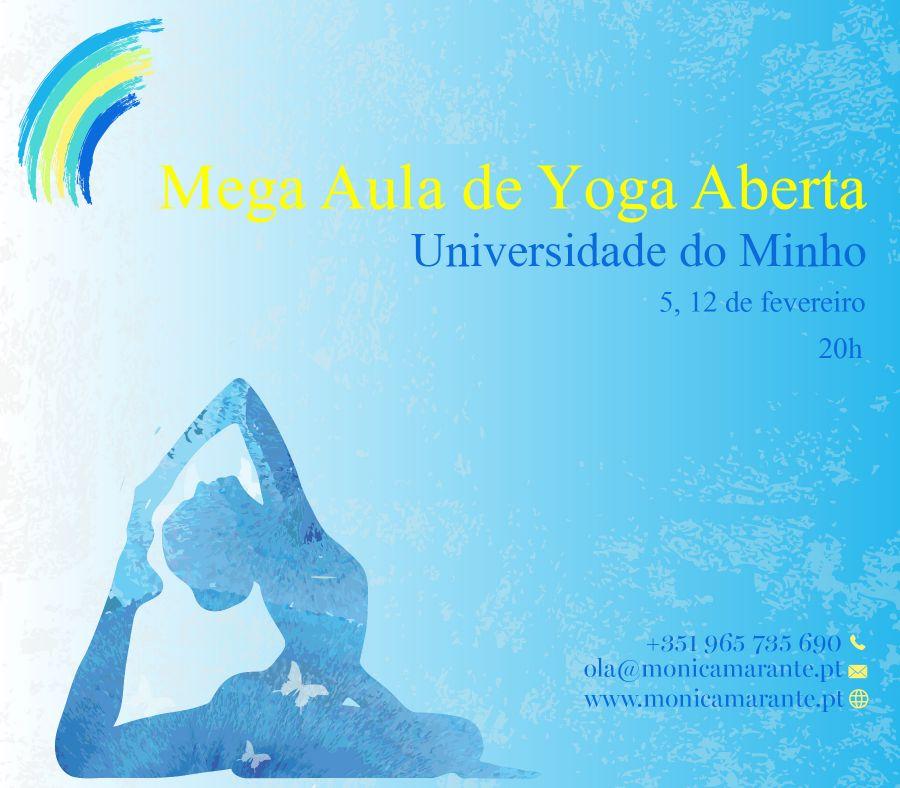 Mega Aula de Yoga Aberta