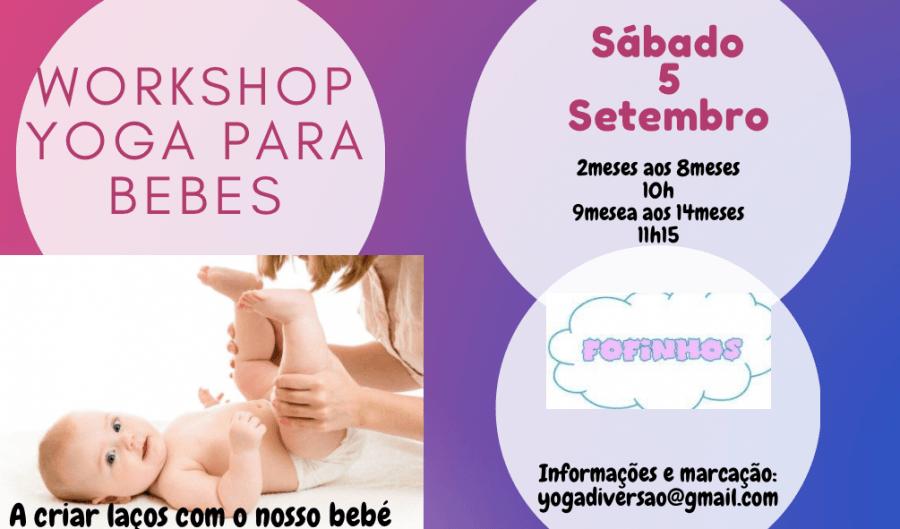 Workshop yoga para bebés