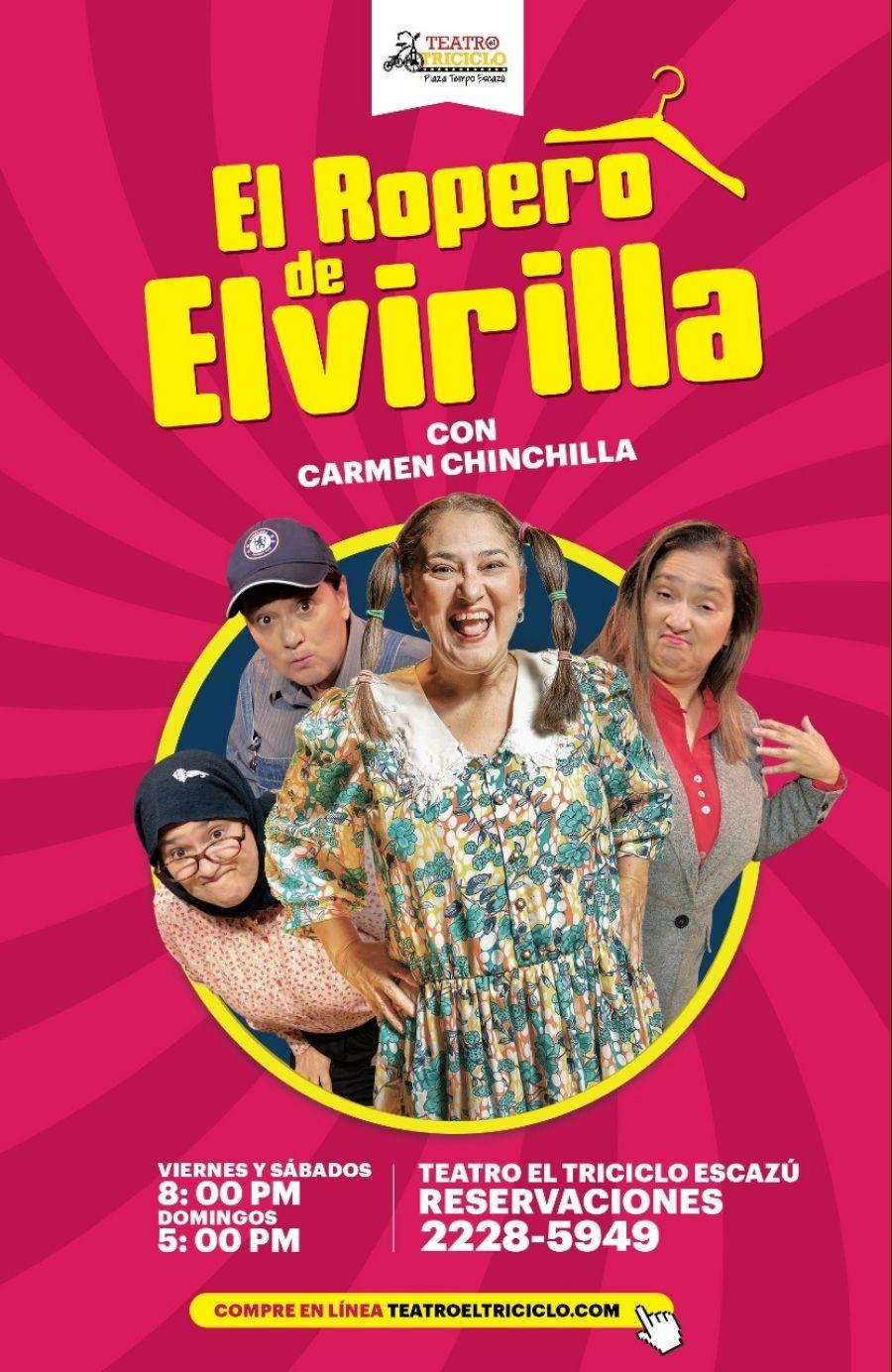 El ropero de Elvirilla. Carmen Chinchilla & Randall Robles. Comedia