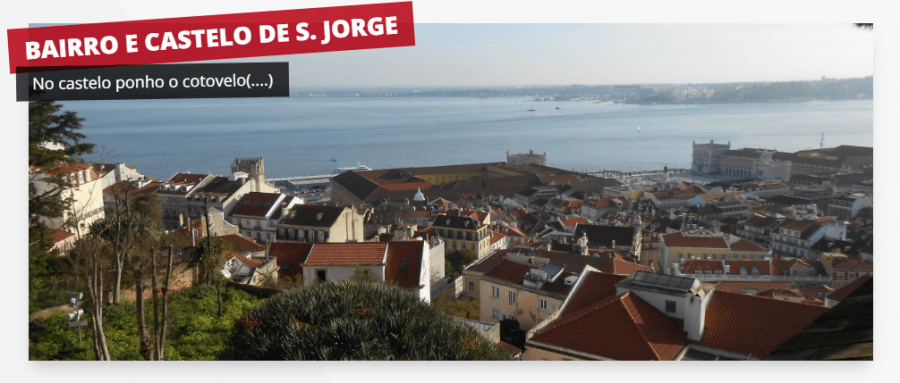 Visita guiada - Bairro e Castelo de S. Jorge