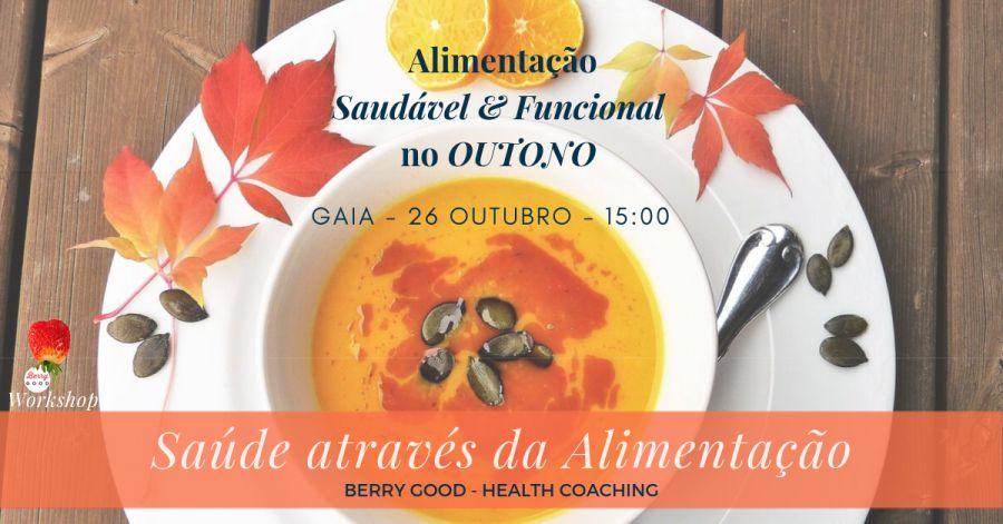 Workshop de Alimentação Saudável & Funcional no Outono