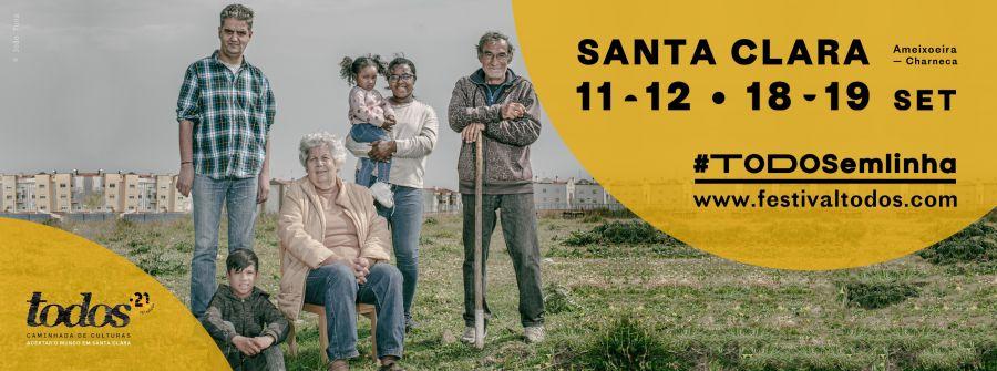Festival TODOS 2021 ┃ 11, 12, 18 e 19 set. ┃ Santa Clara