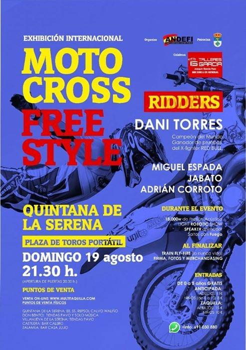 Exhibición Internacional de Moto Cross