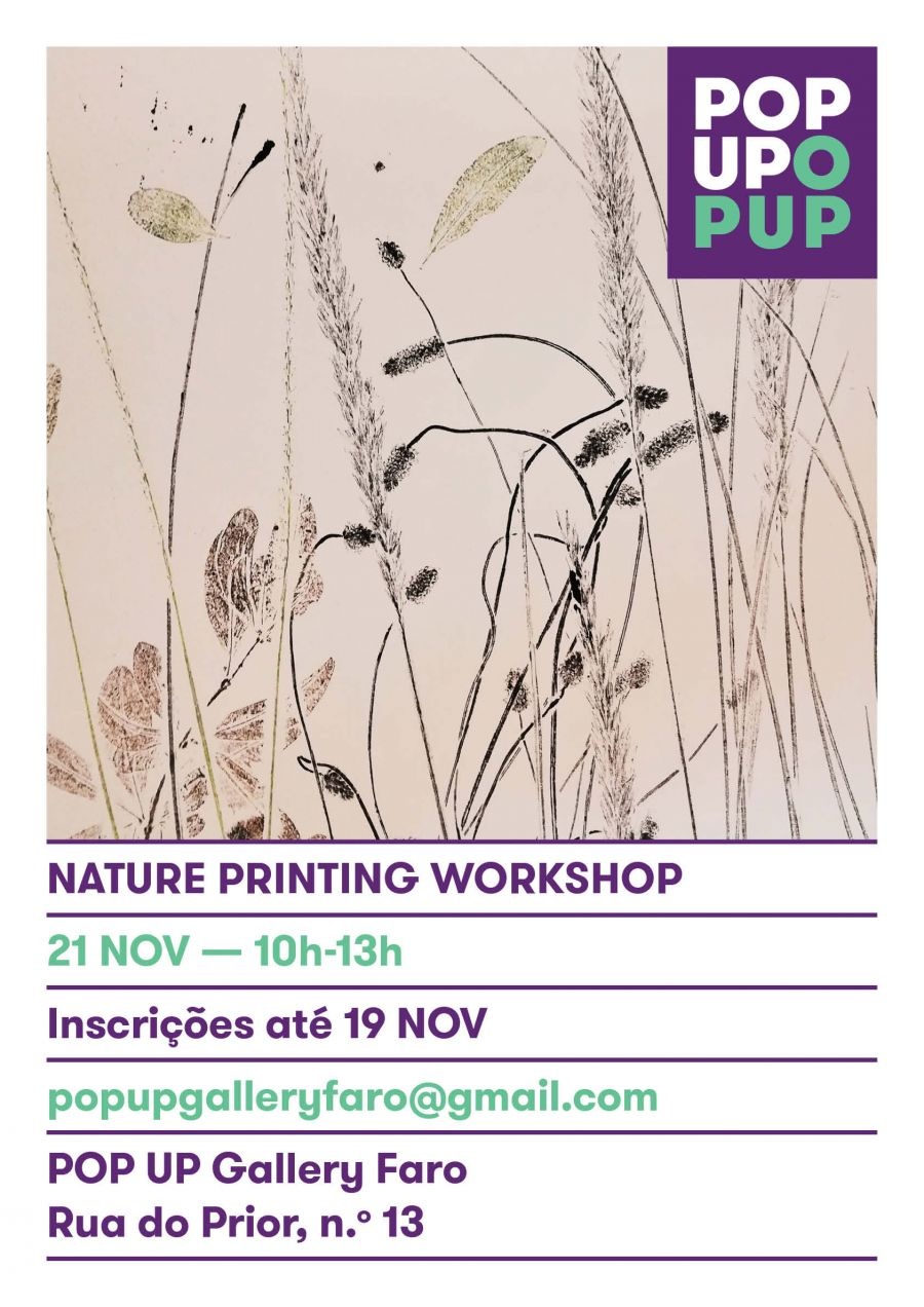 Nature Printing Workshop