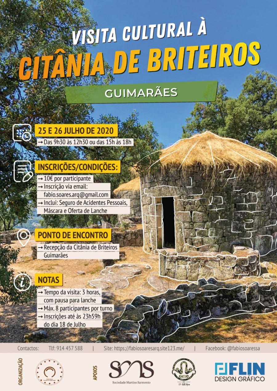 Visita Cultural à Citânia de Briteiros (Guimarães)