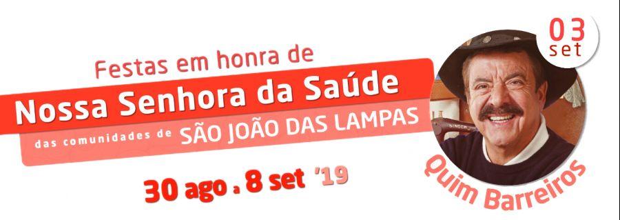 Quim Barreiros - Festa de São João das Lampas