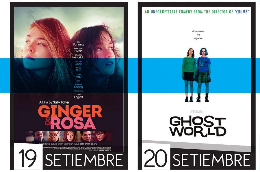 Cine UCR. Desafíos de la juventud. Ginger y Rosa & Ghost World