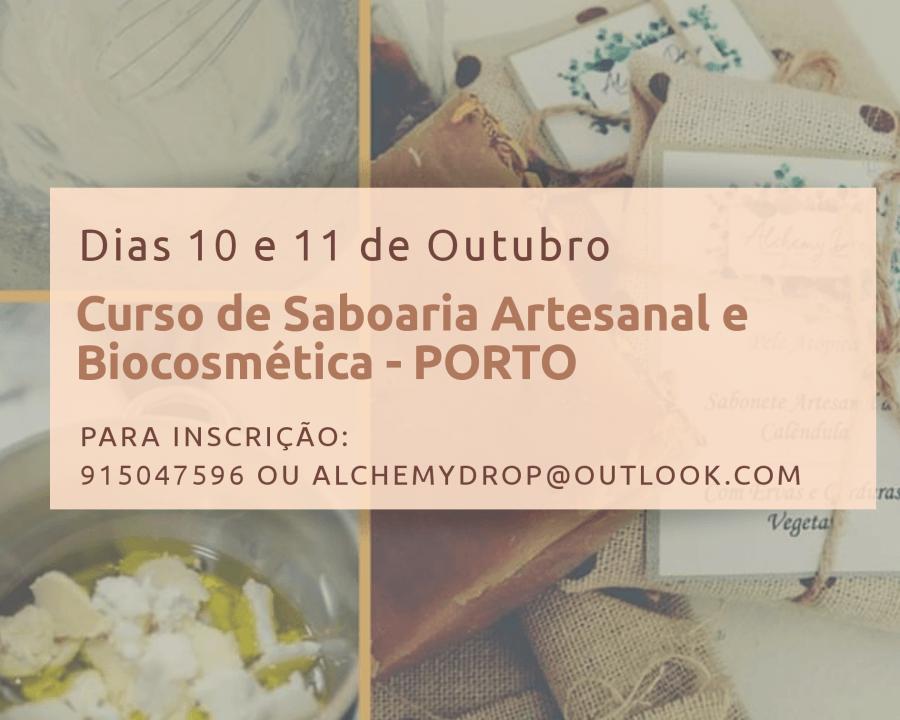Curso de Saboaria Artesanal e Biocosmética