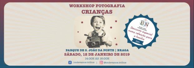 Workshop Fotografia Crianças