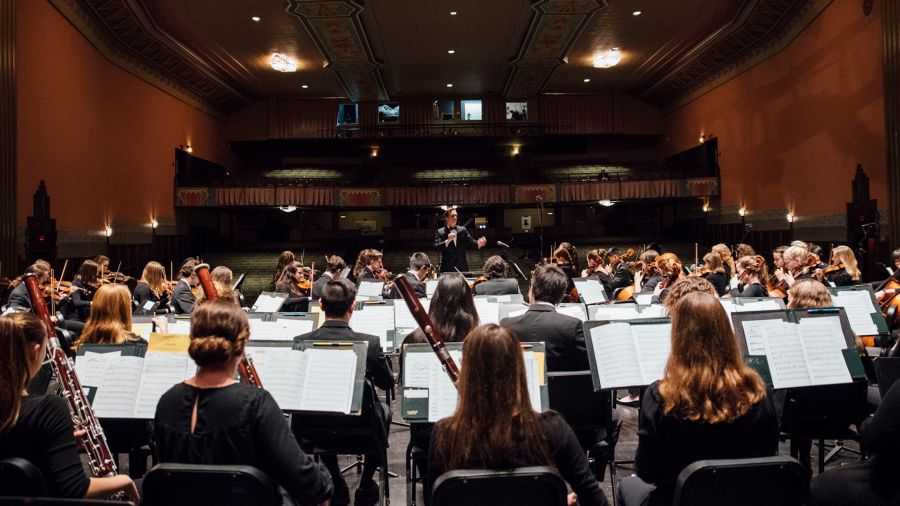 Concerto pelo Vermont Youth Orchestra