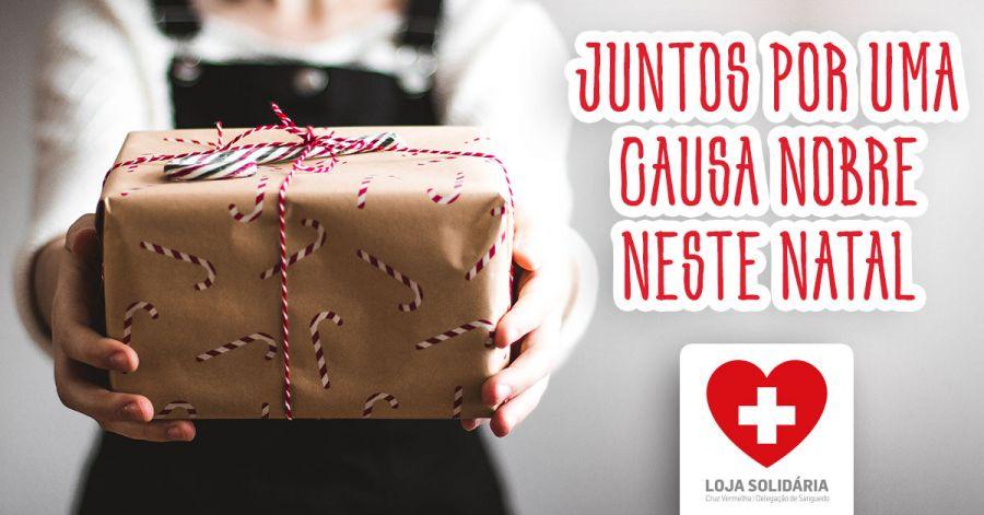 Loja Solidaria da Cruz Vermelha em Santa Maria da Feira - Juntos Por uma Causa Nobre neste Natal
