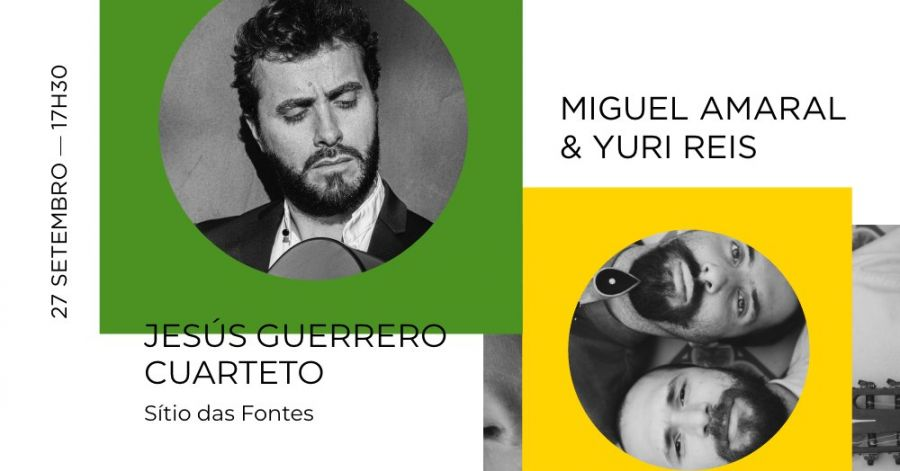 Miguel Amaral & Yuri Reis em concerto - 7º Festival Internacional de Guitarra de Lagoa