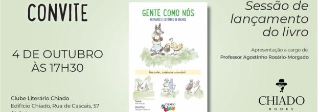 Lançamento de livro para Crianças