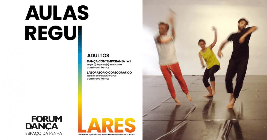 Aulas Regulares de Dança para Adultos 2019/20