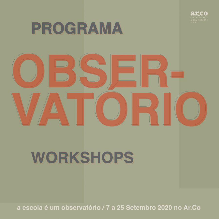 Observatório Programa de Workshops Setembro 2020