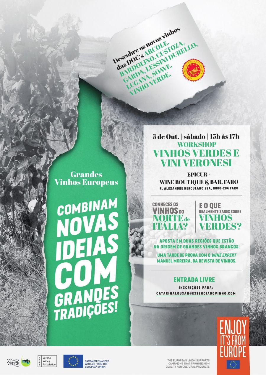 Workshop - Vinhos Verdes e Vini Veronesi