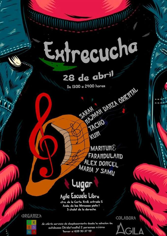Festival Extrecucha 2018 // Agila Escuela Libre