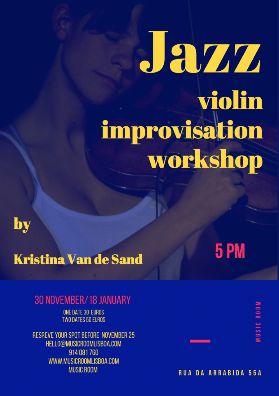Jazz violin improvisation workshop by Kristina Van de Sand