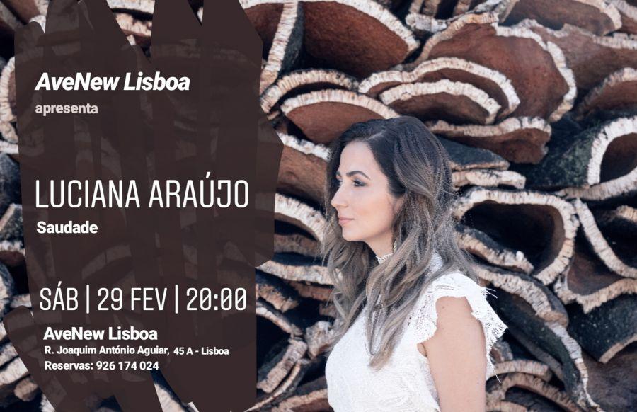 Luciana Araújo apresenta disco Saudade