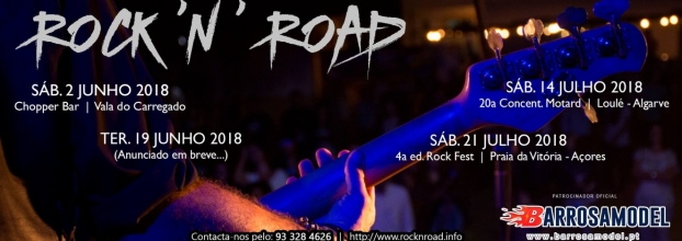 Rock n Road ao vivo - Concentração Motard Loulé