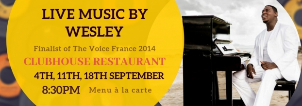 Soul Night, Live music with Wesley (Finalist of The Voice France 2014)