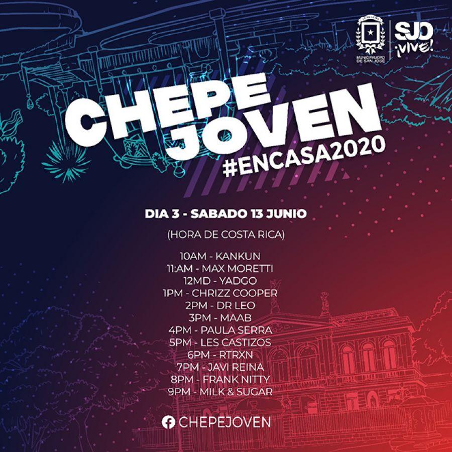 Chepe Joven #encasa2020. Día 3