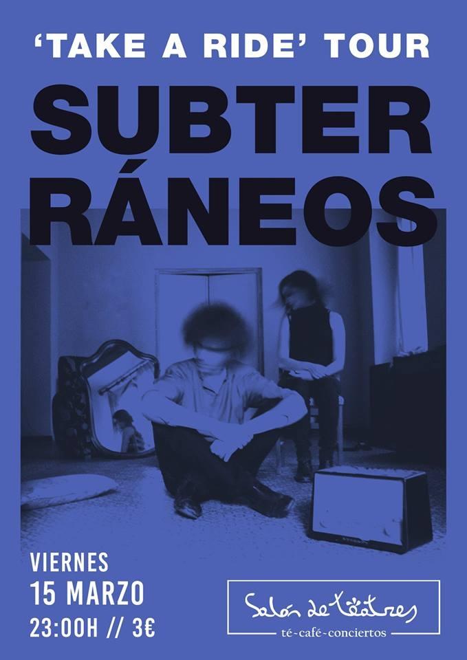 Concierto: Subterráneos // Salón de Teatres