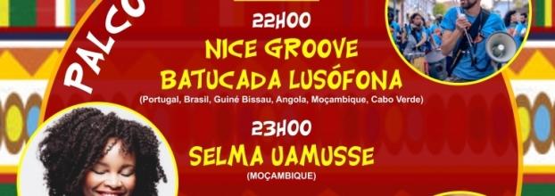 Henriquinho Junior + B-Skilla + Nice Groove Batucada Lusofona + Selma Uamusse + DJ Brian  Kadawa