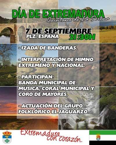 Día de Extremadura en Quintana de la Serena