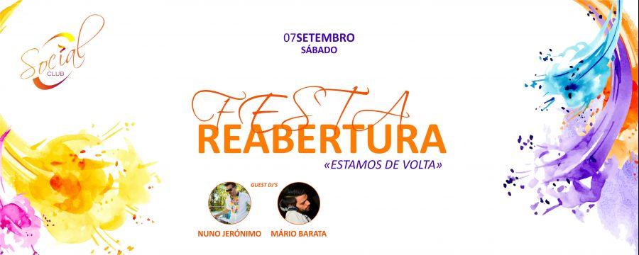 Festa de Reabertura | FESTA Afrolatina @ Social Club