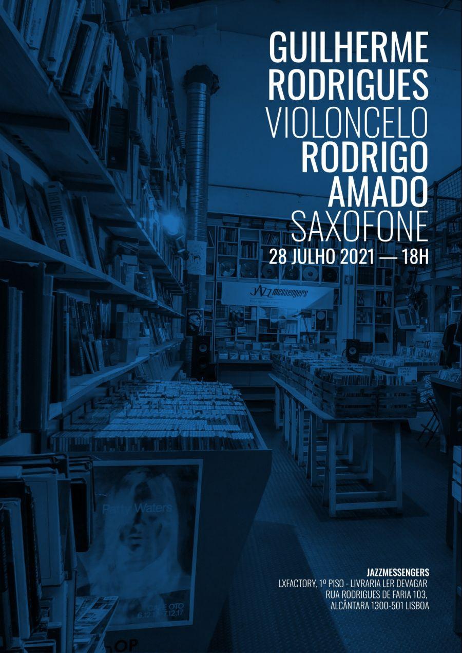 Diálogos Comunicantes#1:Guilherme Rodrigues (Violoncelo )/Rodrigo Amado (Saxofone)