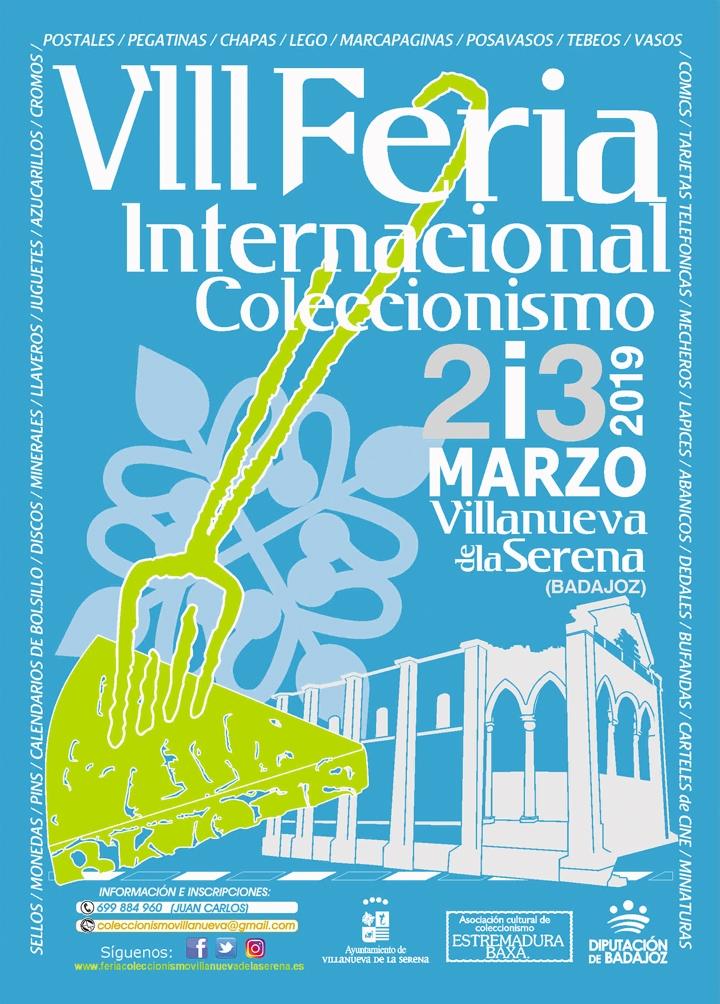 VIII Feria Internacional de Coleccionismo de Villanueva de la Serena