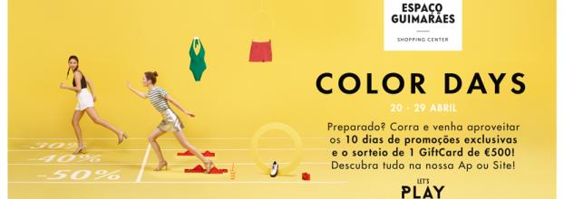 Color Days no Espaço Guimarães