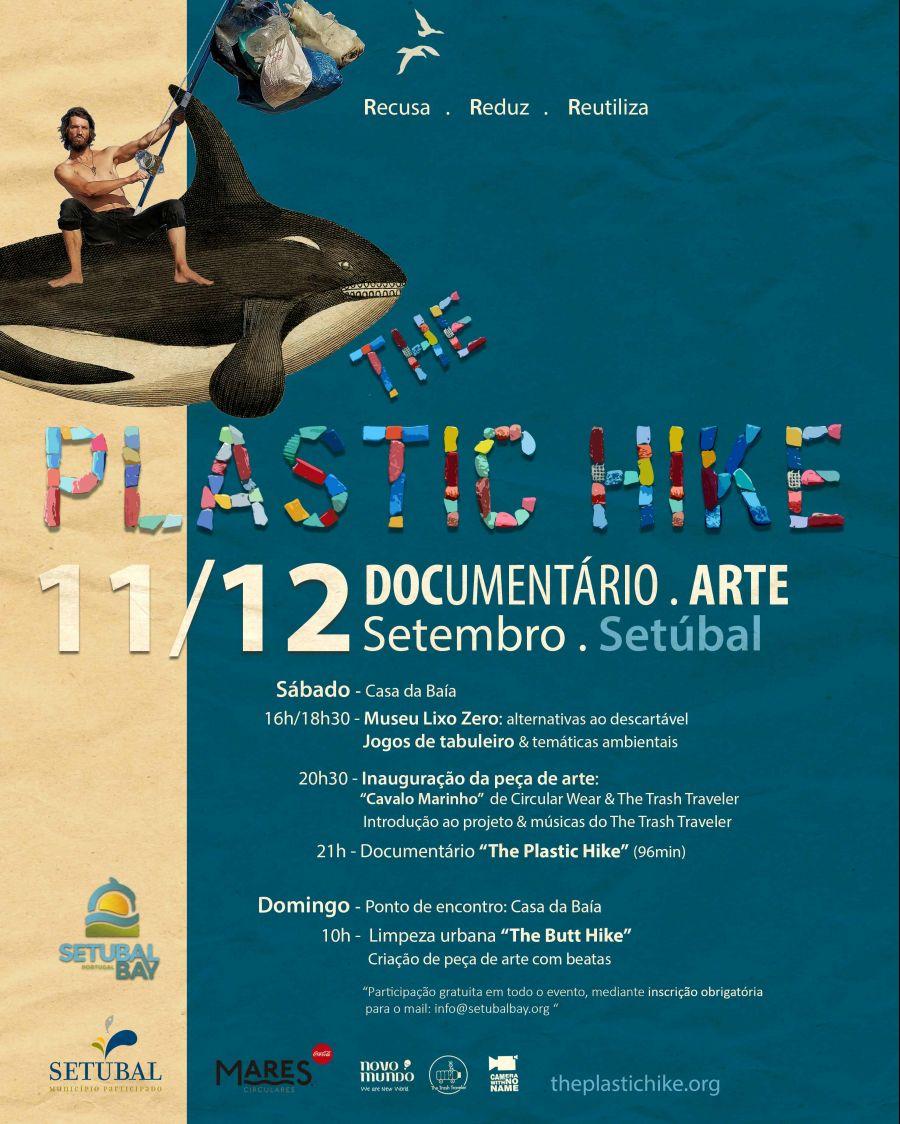 The Plastic Hike em Setúbal - jogos, arte e documentário