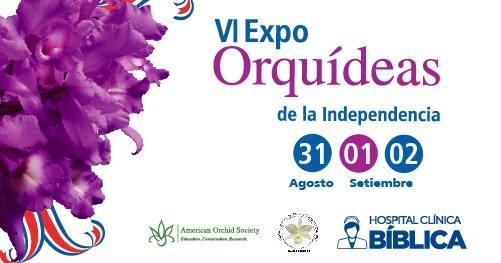 VI expo orquídeas de la independencia