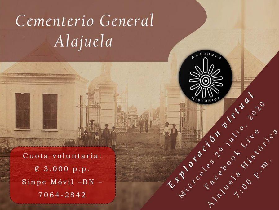 Exploración Virtual: Cementerio General de Alajuela