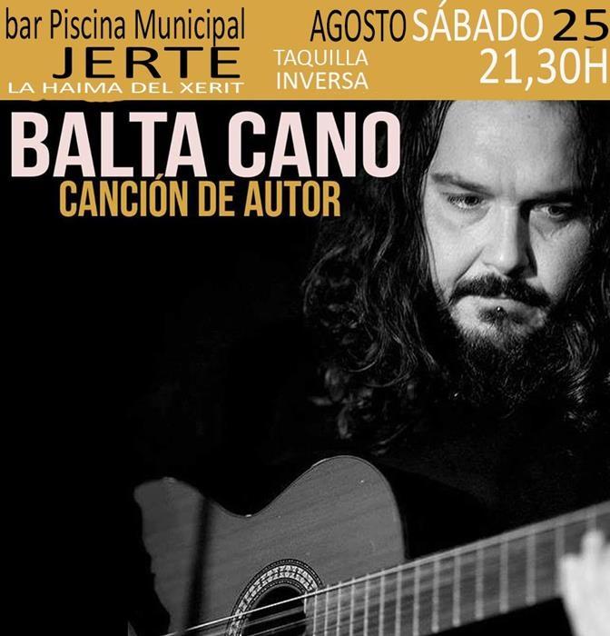 BALTA CANO en concierto || Bar Piscina Municipal Jerte