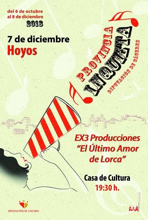 Provincia Inquieta | El último amor de Lorca