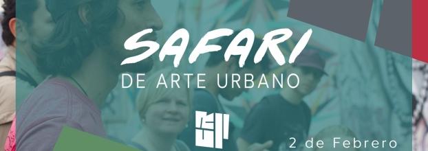 Safari de arte urbano. Graffiti, arte mural y arte ciudadano